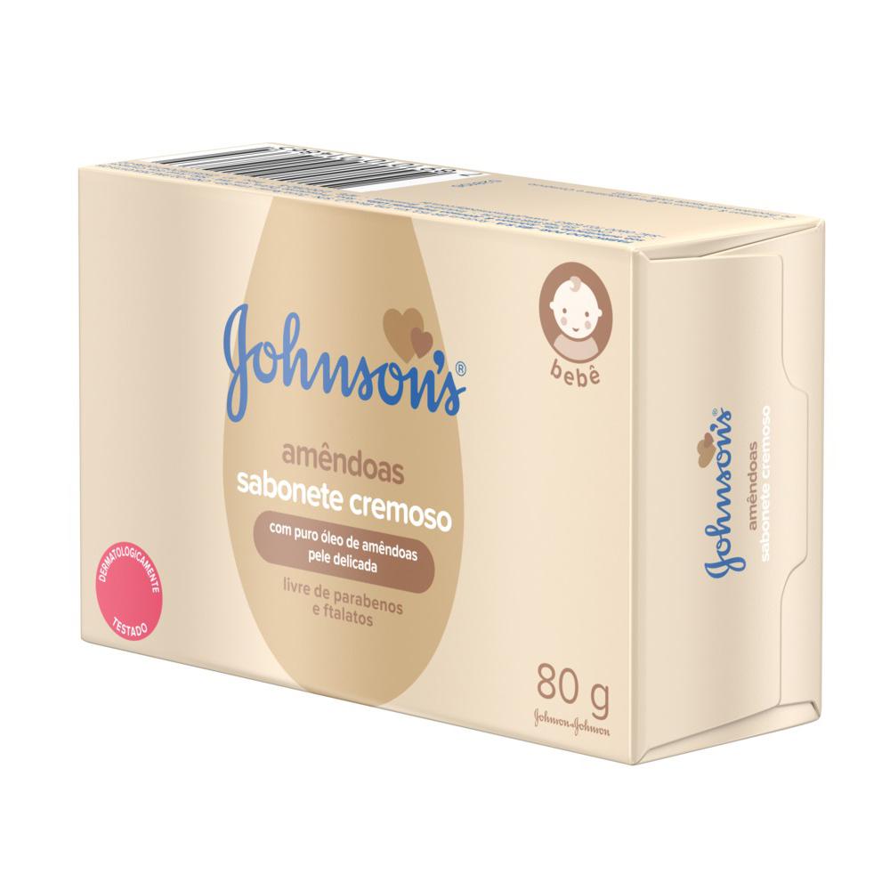 Kit c/ 12 Sabonete Barra JOHNSON?S Baby Óleo de Amêndoas 80g