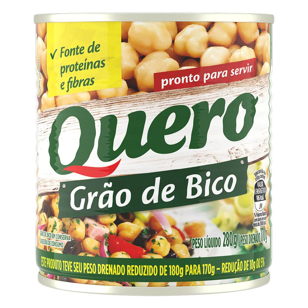 Kit c/ 24 Grão de Bico Quero 170g