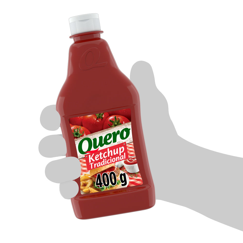 Kit c/ 24 Ketchup Quero Tradicional 400g