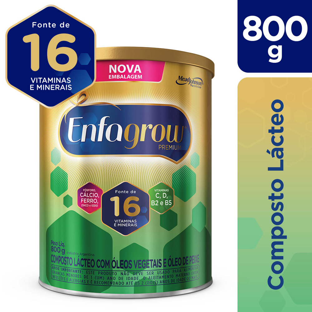 Kit c/ 3 Enfagrow 800g