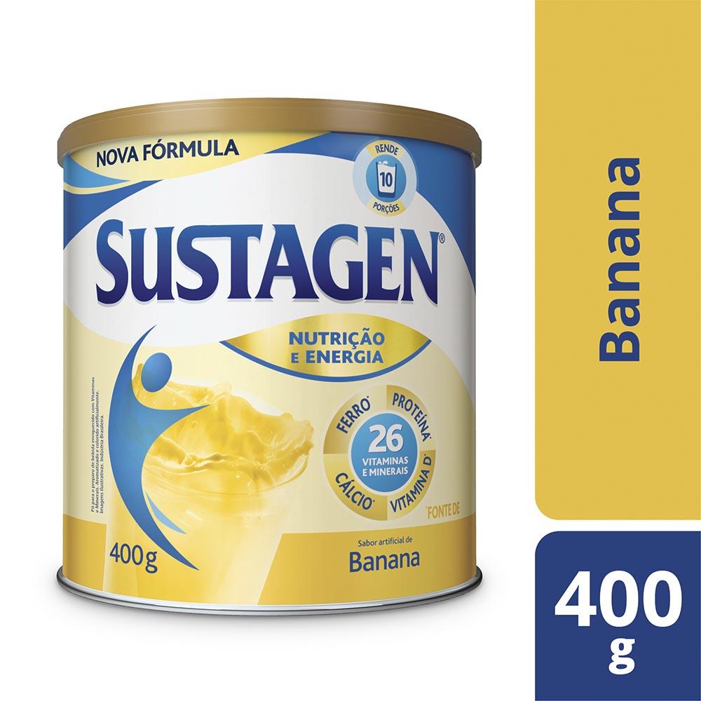 Kit c/ 3 Sustagen NE 400g Banana