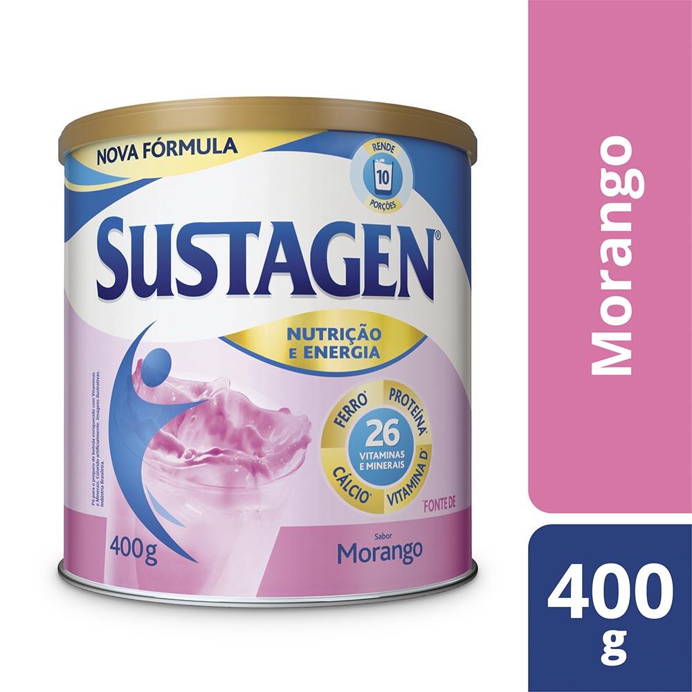Kit c/ 3 Sustagen NE 400g Morango