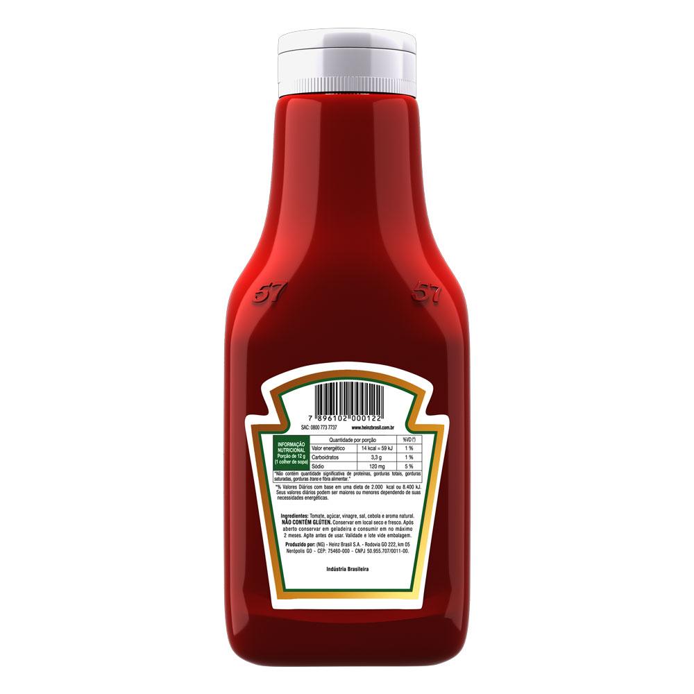 Kit c/ 4 Ketchup Heinz 1,033Kg