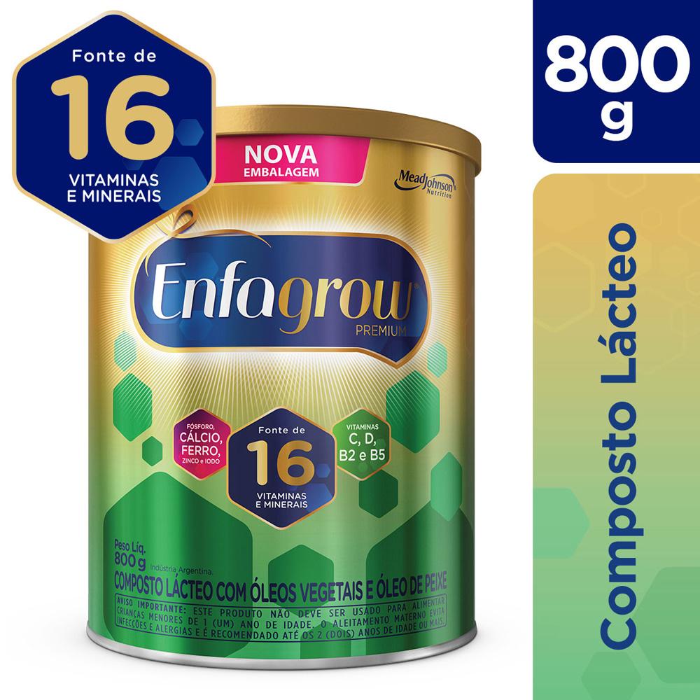 Kit c/ 6 Enfagrow 800g