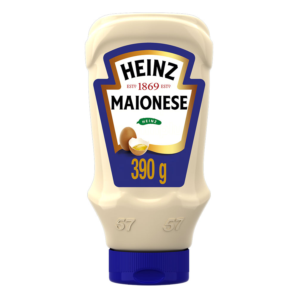 Kit c/ 6 Maionese Heinz Tradicional 390g