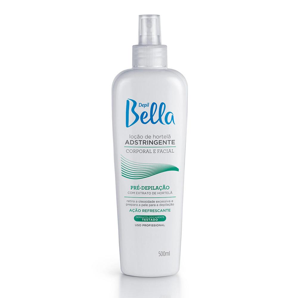 Loção Adstringente Hortelã Depil Bella 500ml - CX c/ 6