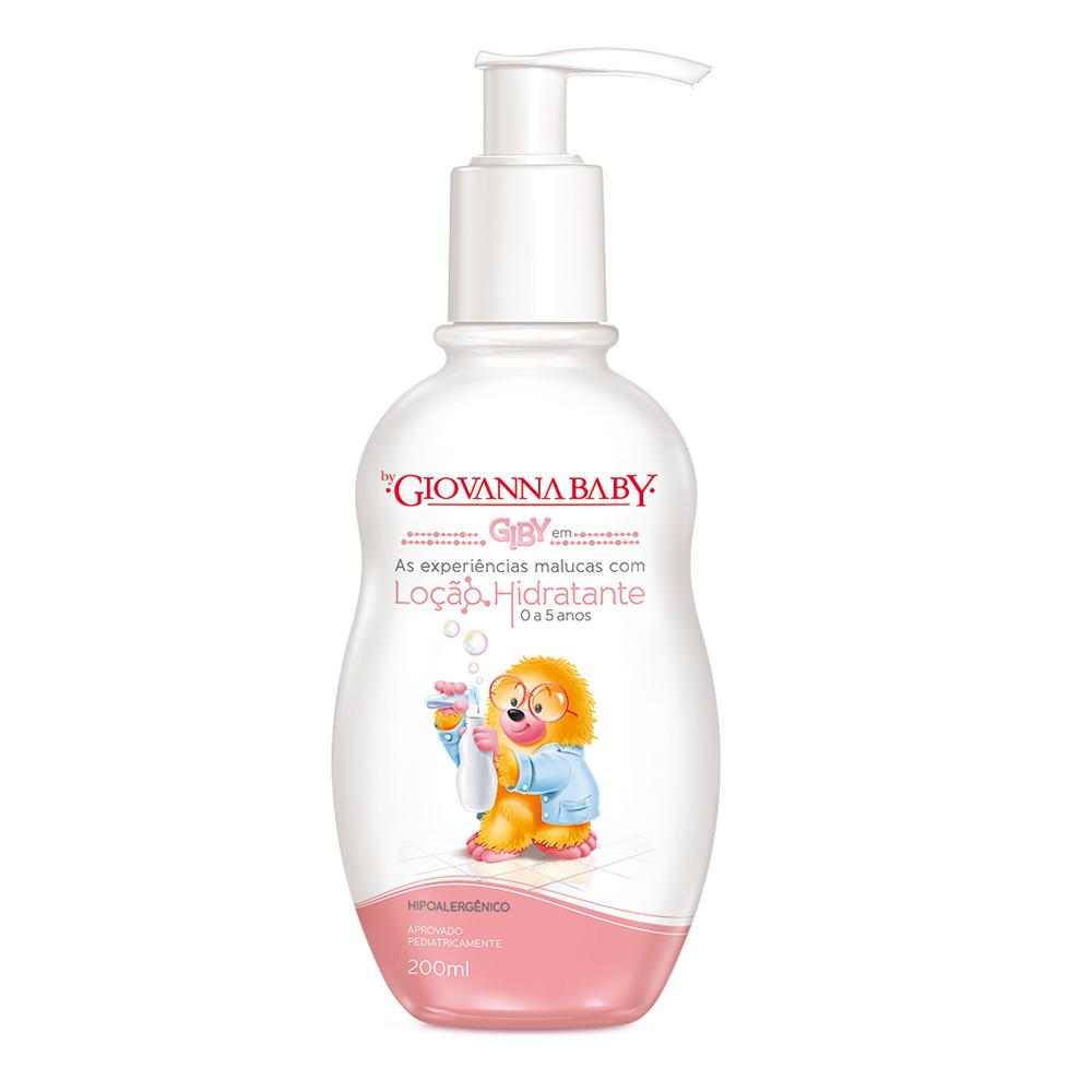 Loção Hidratante Giby Giovanna Baby 200 ml - CX c/ 12