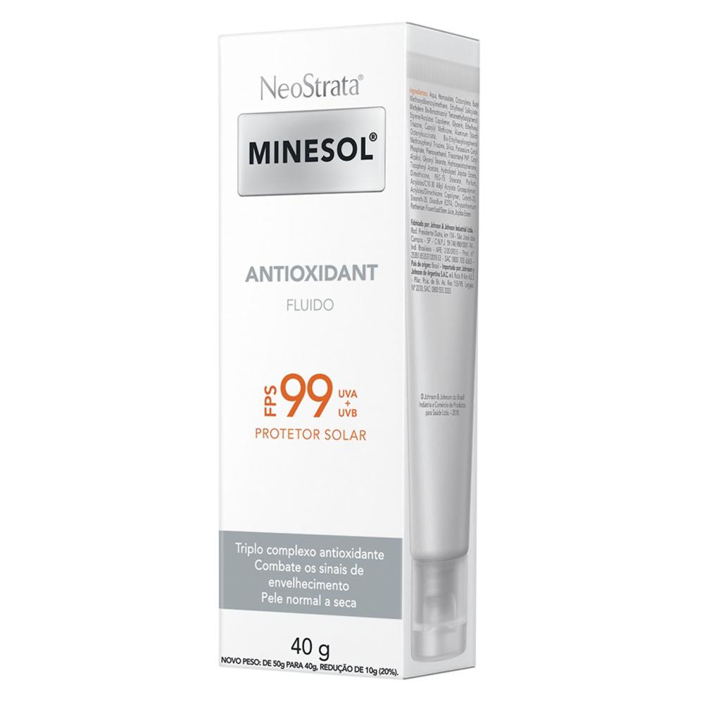 Neostrata Minesol Antioxidant FPS99 40g - CX c/ 6