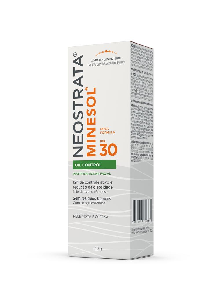 Neostrata Minesol Oil Control FPS 30 40g - CX c/ 6