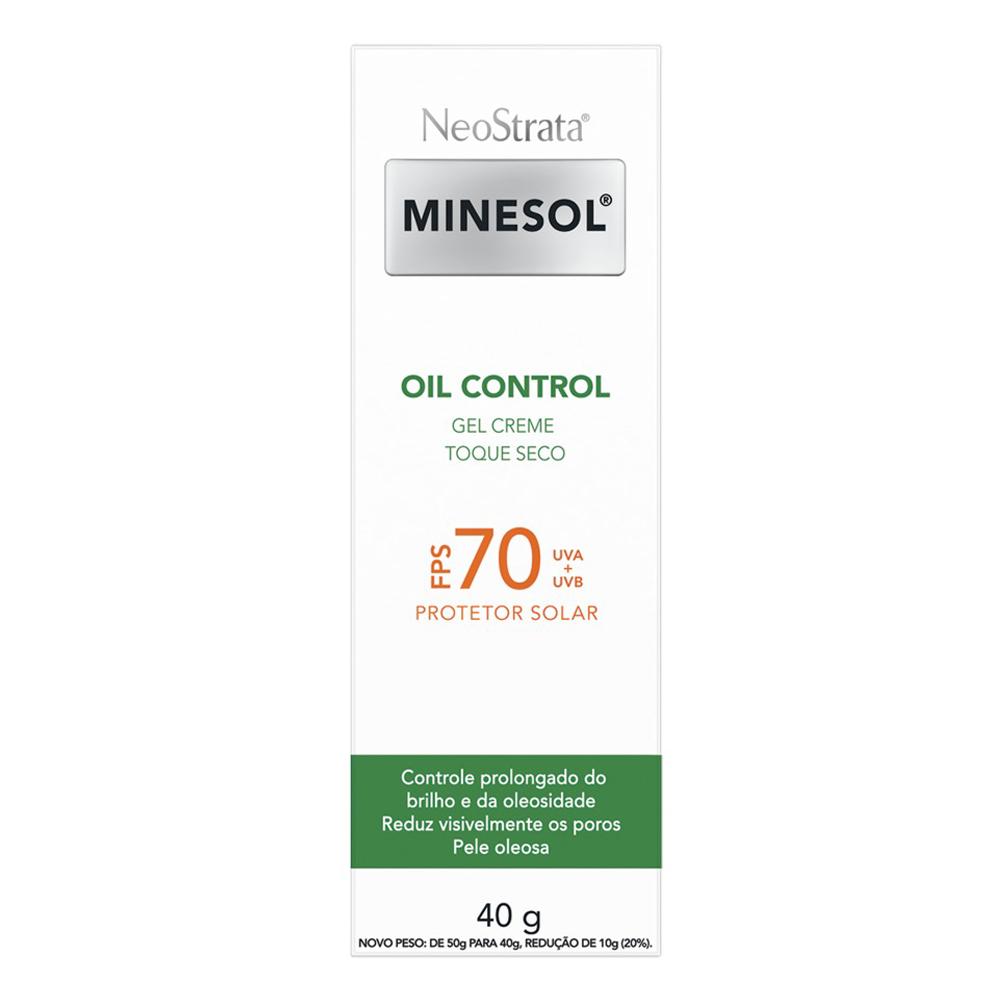 Neostrata Minesol Oil Control FPS 70 40g - CX c/ 6