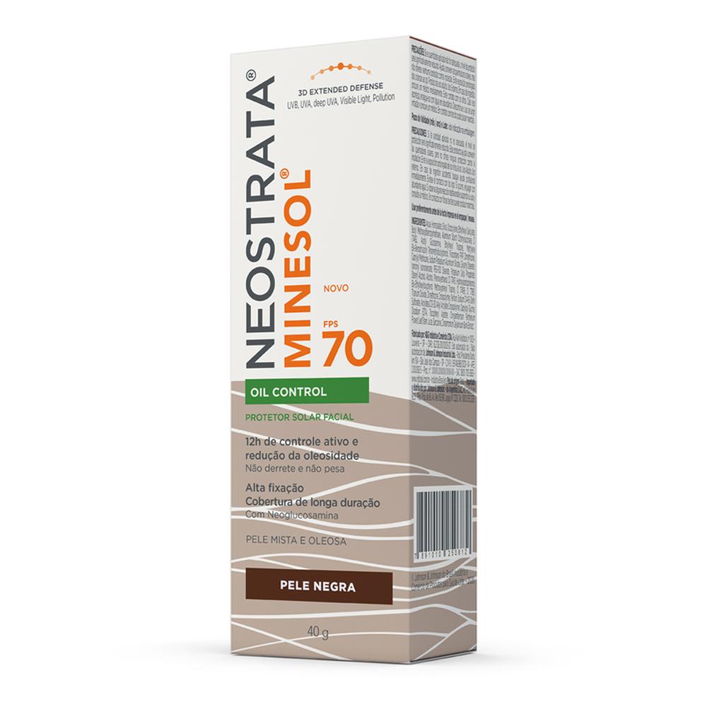 Neostrata Minesol Oil Control FPS 70 Pele Negra - CX c/ 6