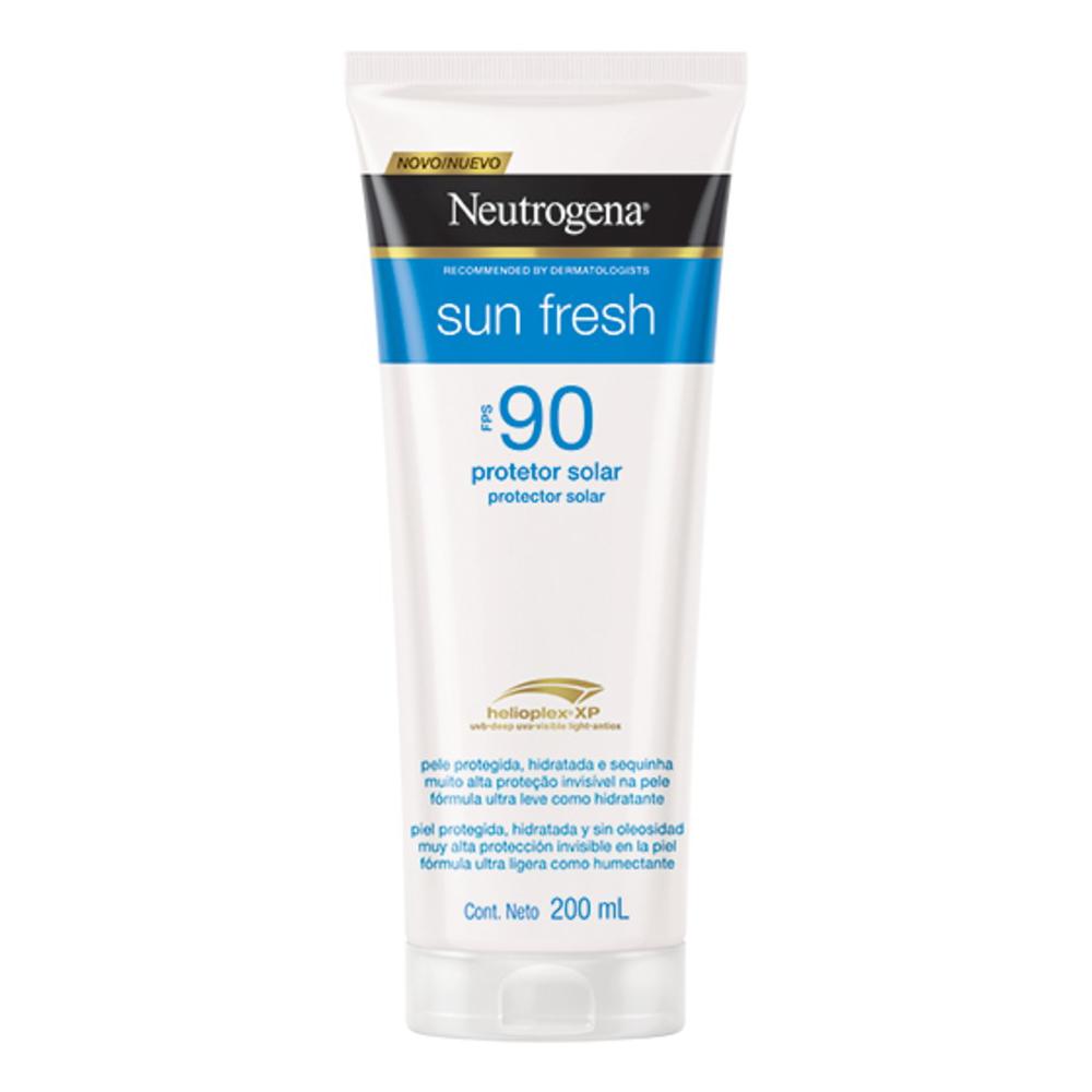 Neutrogena Sun Fresh FPS 90 200ml - CX c/ 6