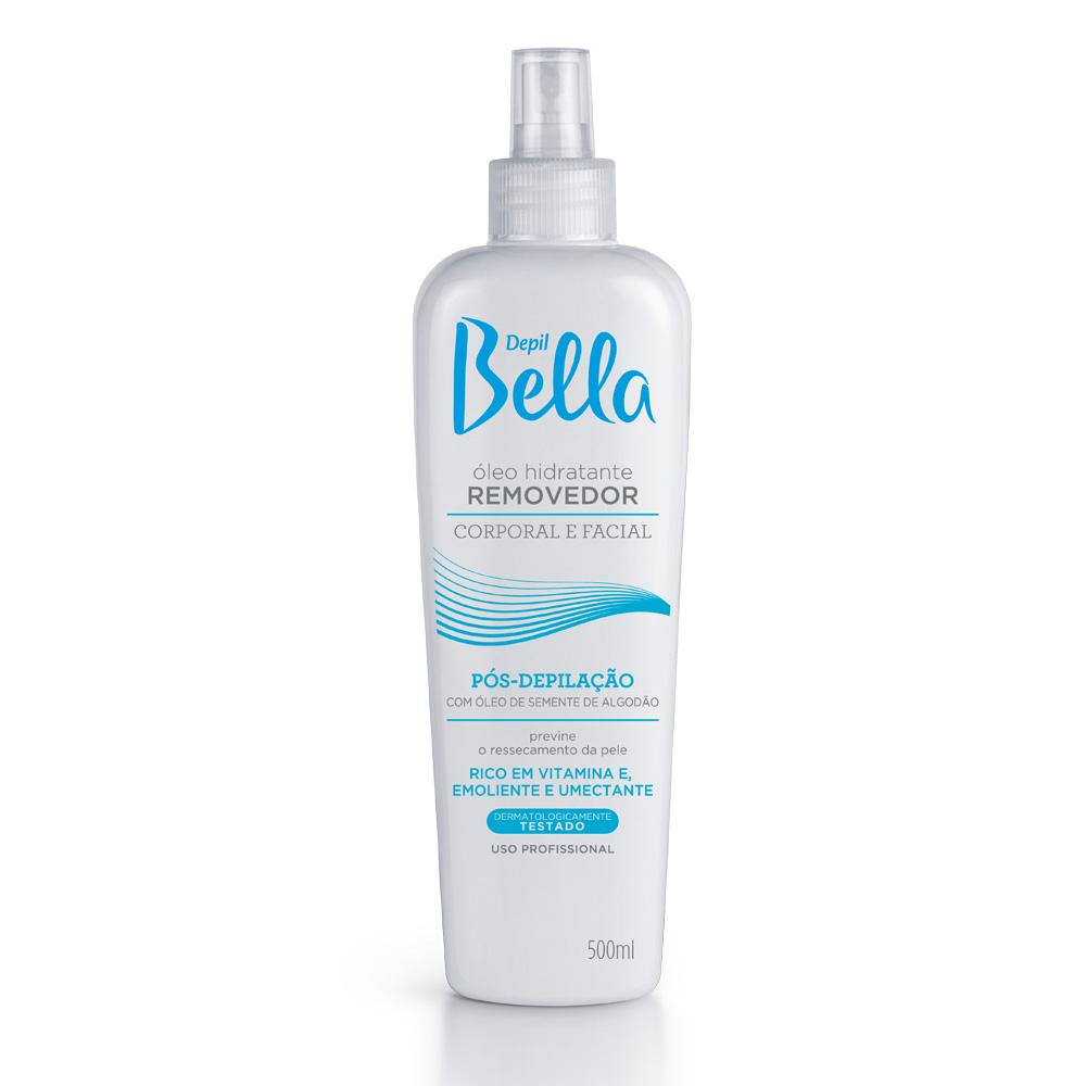 Óleo Removedor Algodão Depil Bella  500ml - CX c/ 6