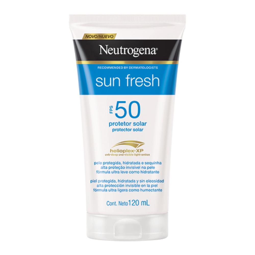 Protetor Solar NEUTROGENA Sun Fresh FPS 50 120ml - CX c/ 6
