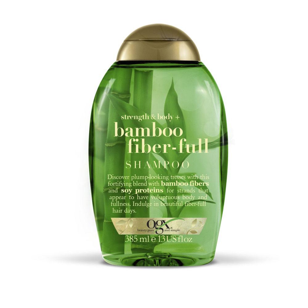 Shampoo Bamboo Fiber OGX 385ML - CX c/ 6