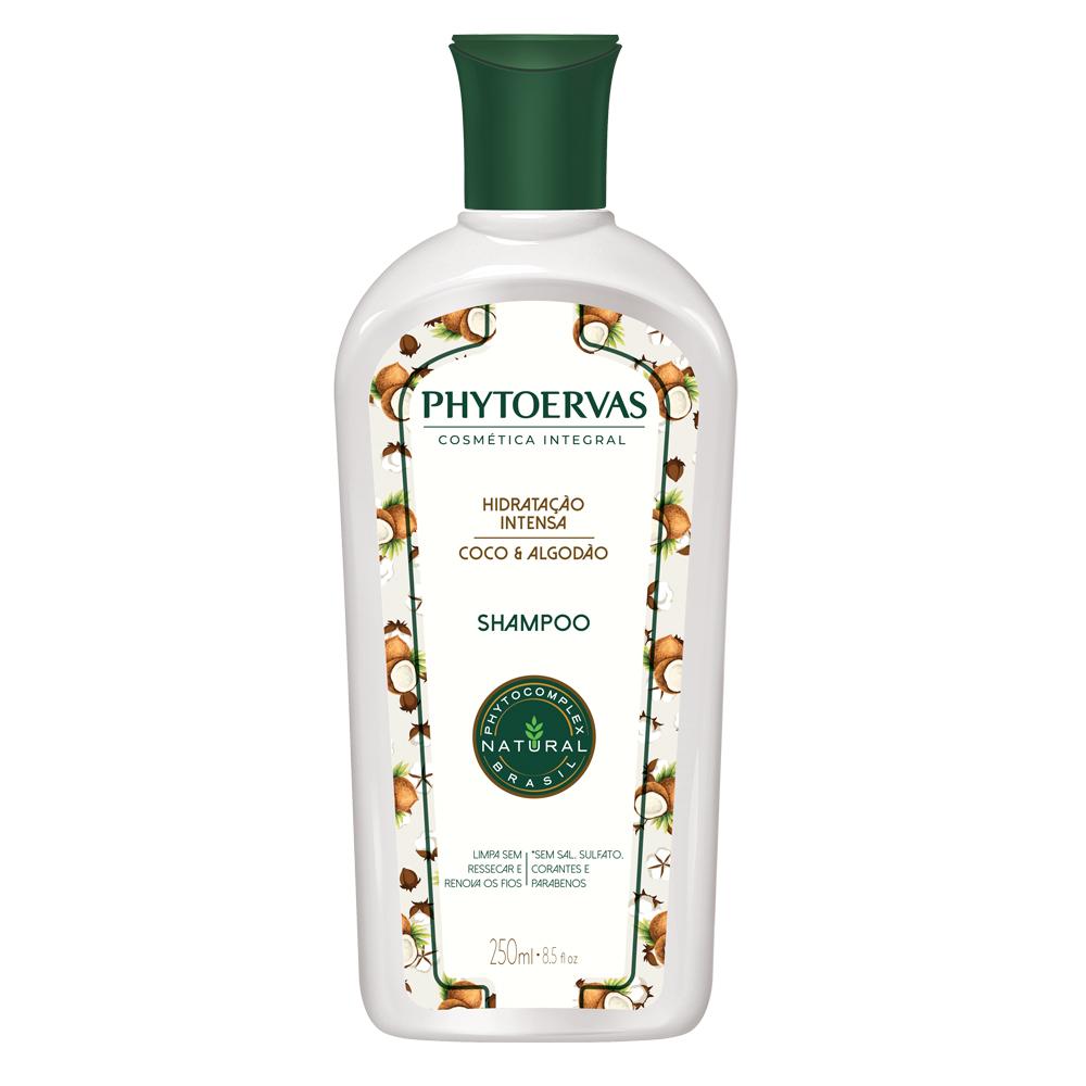 Shampoo Hidratação Intensa Phitoervas 250 ml - CX c/ 12