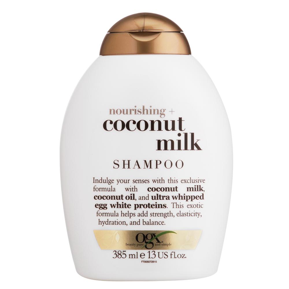 Shampoo OGX Coconut Milk 385ml - CX c/ 6