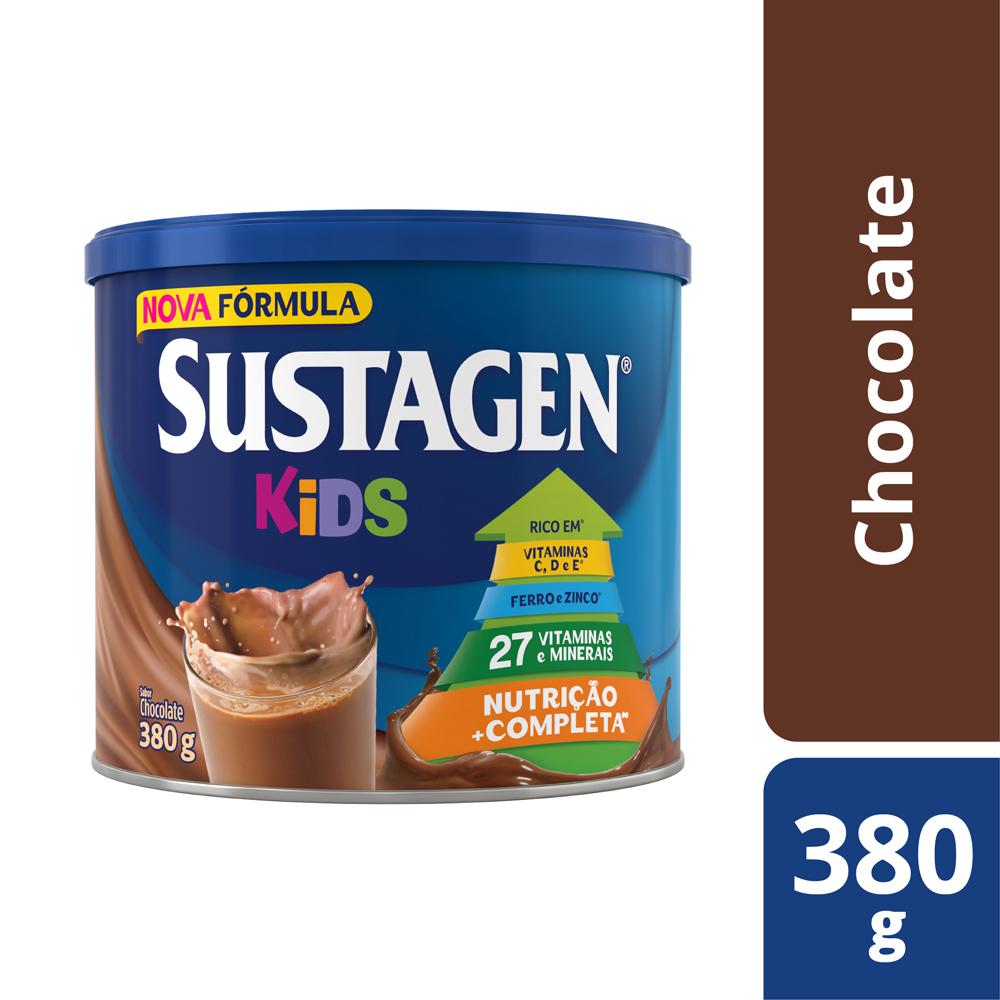 Sustagen Kids 380g Chocolate - CX c/ 12