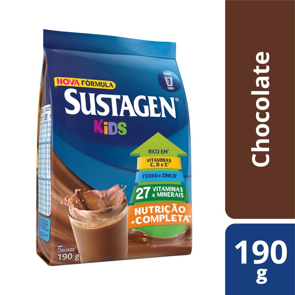 Sustagen Kids Chocolate 190g - CX c/ 48