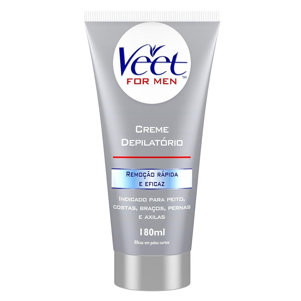 Veet For Men Creme 180ml - CX c/ 12