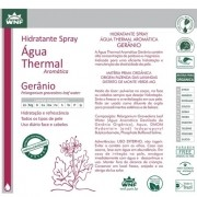 Água Thermal Gerânio Spray Hidratante 200 ml WNF