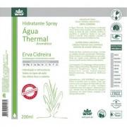 Água Thermal Hidratante Erva Cidreira 200ml WNF