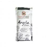 Argila Preta orgânica e 100% natural (Detox) 40g TERRAMATER