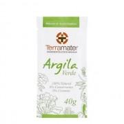 Argila Verde Antioleosidade Orgânica  40g - Terramater