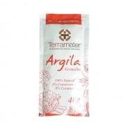 Argila Vermelha orgânica e 100% natural (Anti-idade) 40g TERRAMATER