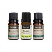 Kit Respiração e Imunidade 3 Óleos Essenciais 10ml Via Aroma