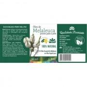 Óleo de Melaleuca Pronto para a Pele 30ml 100% Natural WNF