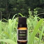 Óleo Essencial de Citronela Puro 10ml Herbia