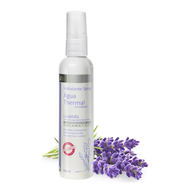 Água Thermal de Lavanda Spray Hidratante 200 ml WNF