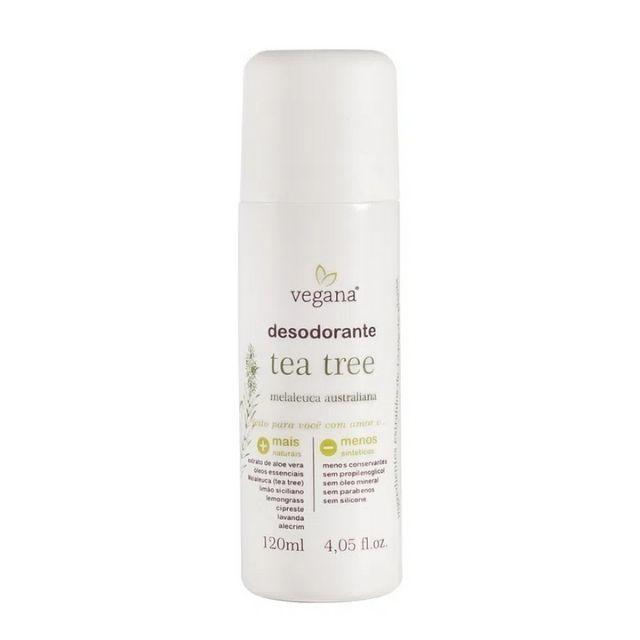 Desodorante Corporal Tea Tree (Melaleuca) 120 ml - VEGANA