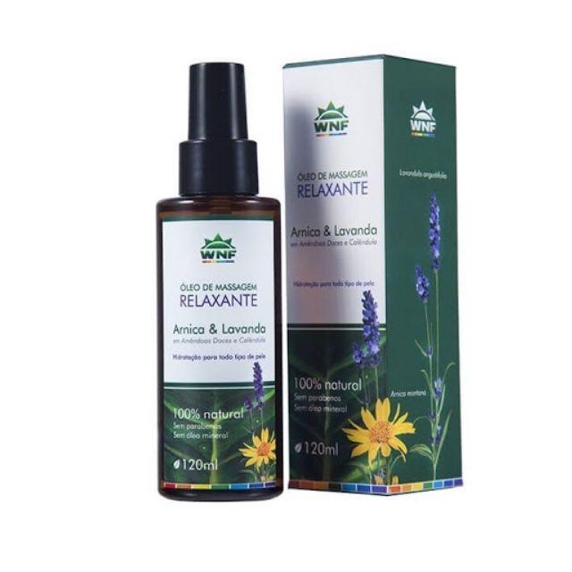 Óleo de Massagem Relaxante 120ml - WNF