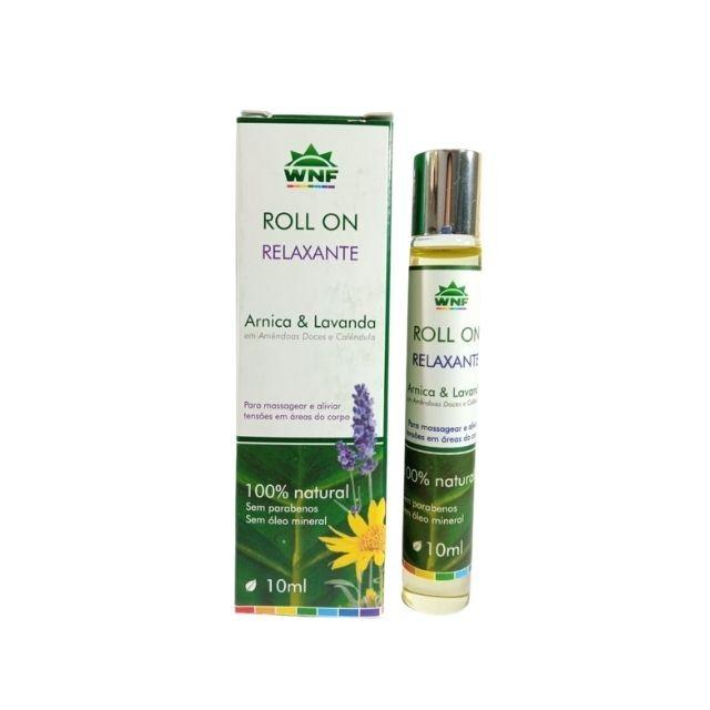 Óleo de Massagem Relaxante Rollon 10 ml - WNF