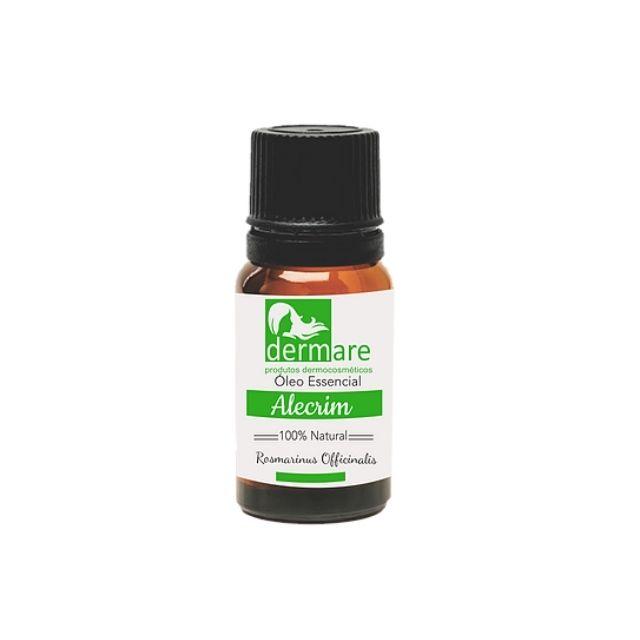 Óleo Essencial Alecrim (Rosmarinus Officinalis) 10ml Dermare