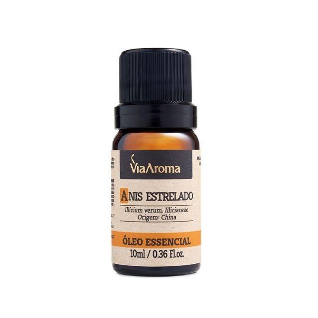 Óleo Essencial de Anis Estrelado Puro Via Aroma 10 ml