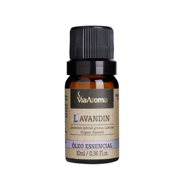 Óleo Essencial Lavandin Puro Via Aroma 10 ml