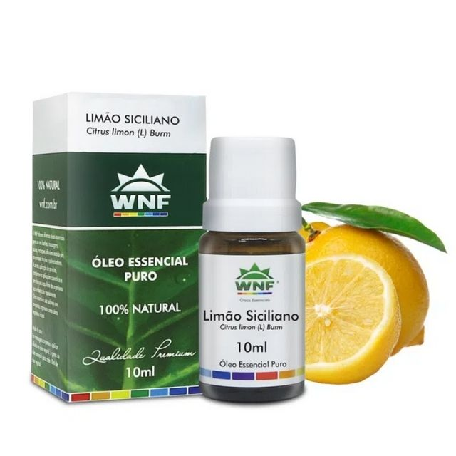 Óleo Essencial Limão Siciliano 10ml WNF