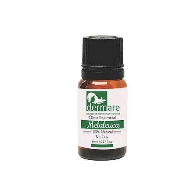 Óleo essencial Melaleuca (Tea Tree) Puro 10 ml Dermare