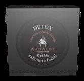 Sabonete Facial Carvão Ativado Orgânico DETOX 40g - AHOALOE