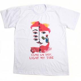 Camiseta Premium Light my Fire