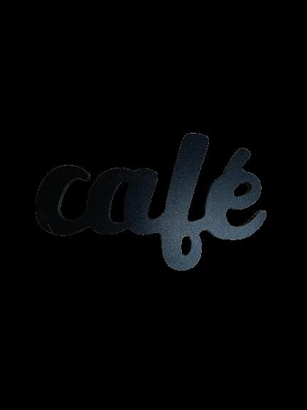PALAVRA CAFÉ DECORATIVA