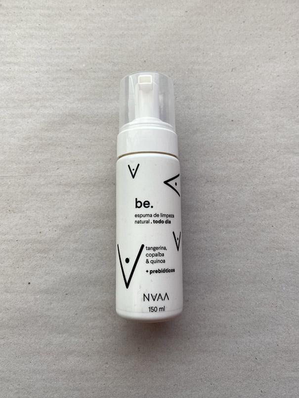 Be.Todo Dia , Espuma de Limpeza Natural NVAA - Tangerina, Copaíba e Quinoa + Prebióticos 150ml