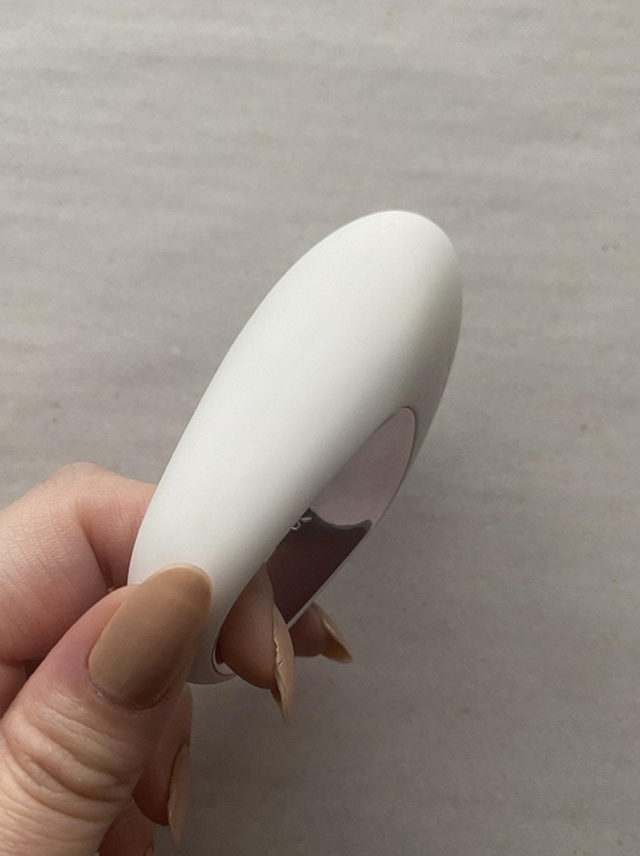 Branca, Vibrador Clitoriano Potente e Recarregável - Satisfyer White Temptation
