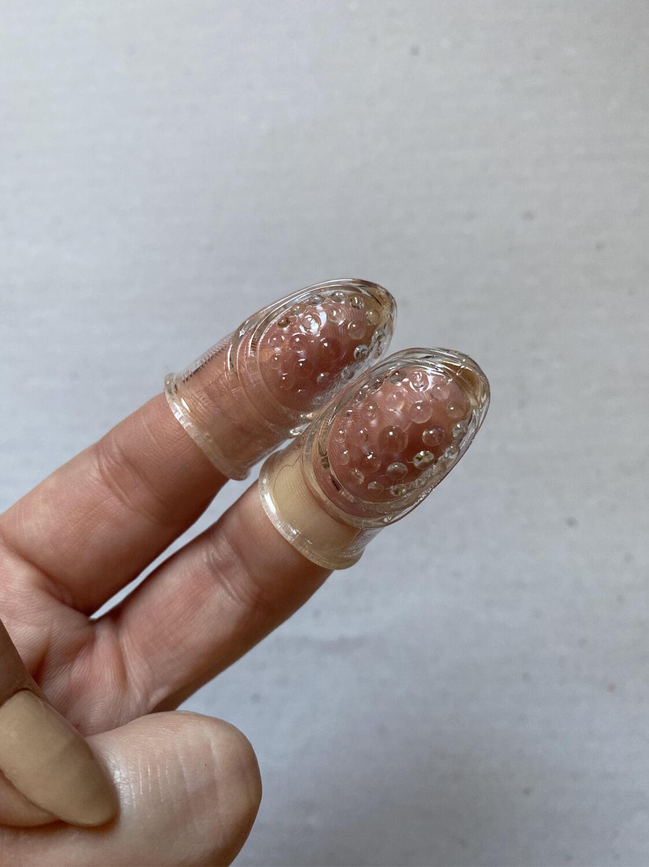 Capa para Dedo de Silicone com Textura com 2 unidades