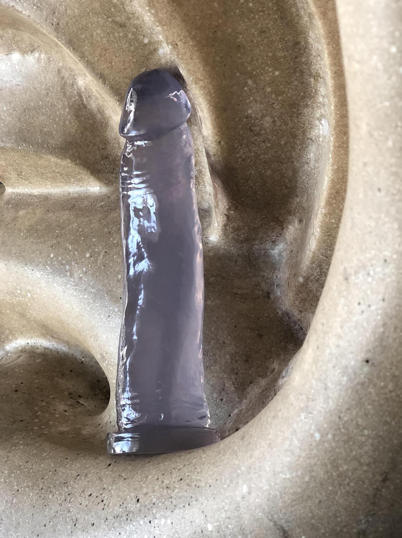 Dildo ESPECIAL Translúcido de 16cm
