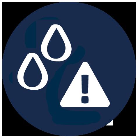 Resistente à água: Resistente à água