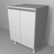 Balcão de Cozinha Multiuso 60cm com 2 Portas